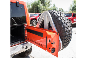 Crawler Conceptz Ultra Series II Rear Bumper and Tire Carrier Bare (Part Number: )