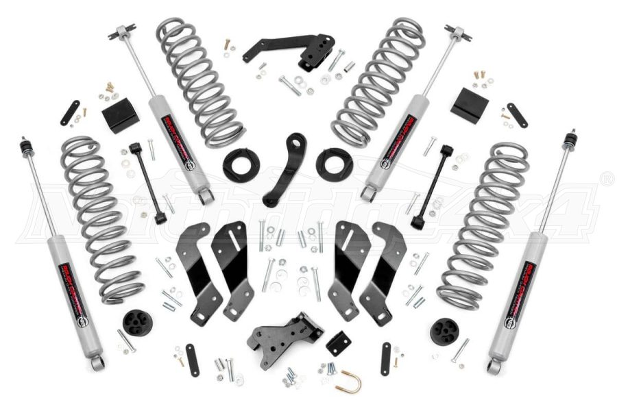 Rough Country 3.5in Suspension Lift Kit W/Premium N3 Shocks - JK 2dr