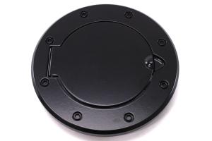 Rugged Ridge Non-Locking  Black Aluminum Gas Cap Door  - JK