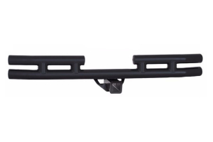 Smittybilt Tubular Rear Bumper W/Hitch Gloss Black ( Part Number: JB44-RH)