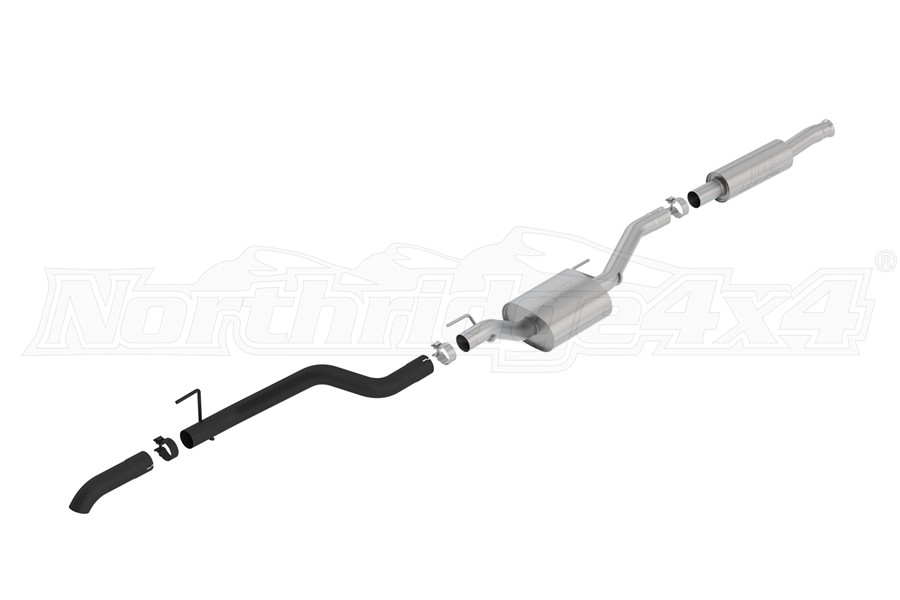 Borla Performance 2.75in S-TYPE Climber Cat-Back Exhaust System - Black - JT 3.6L