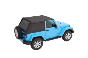 Bestop Trektop NX Plus Soft Top Black Diamond ( Part Number: 56852-35)