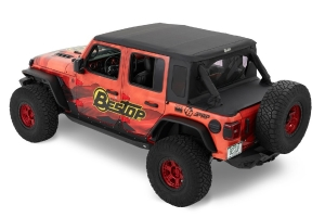Bestop Trektop Halftop Kit -  Black Diamond - JL 4dr
