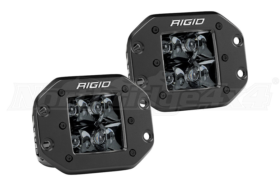 Rigid Industries D-Series PRO Spot Midnight Edition, Pair  (Part Number:212213BLK)