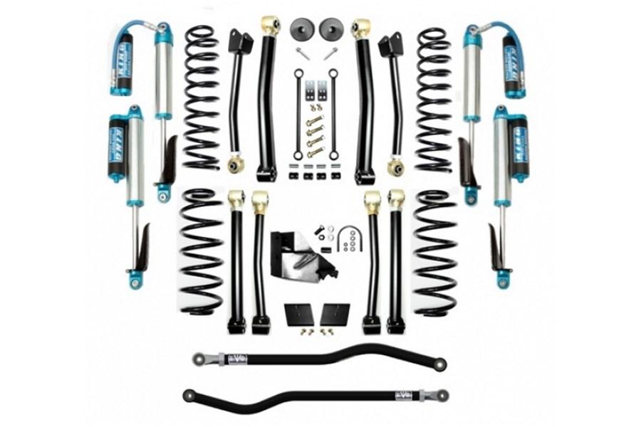 Evo Manufacturing 3.5in Enforcer Stage 4 PLUS Lift Kit w/ Comp Adjuster Shocks - JL
