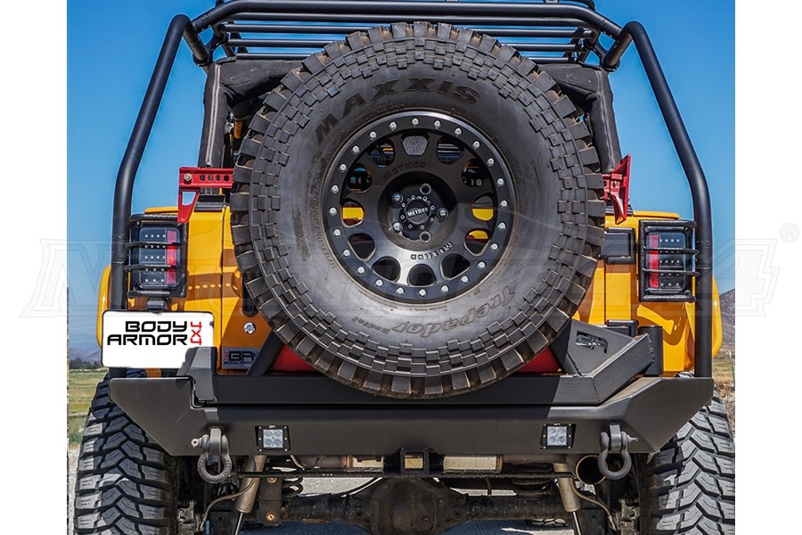 Body Armor PRO-Series Rear Bumper (Part Number:JK-2396)