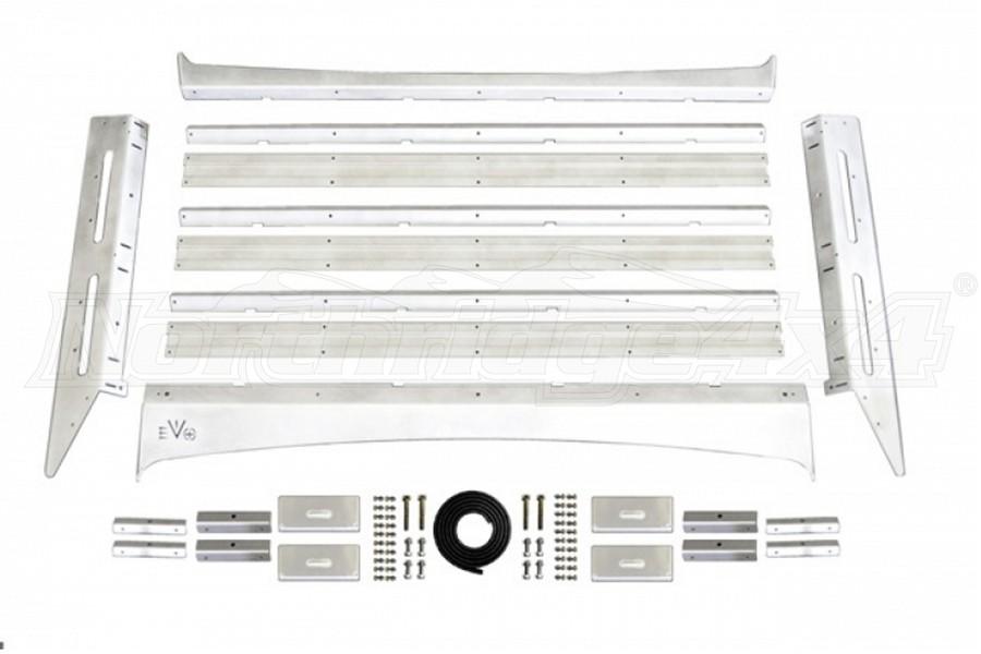 EVO Manufacturing Half Cab Roof Rack, Aluminum - JT
