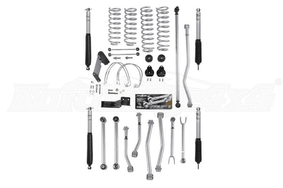Rubicon Express 4.5in Super Flex Short Arm Lift Kit w/ Shocks - JK