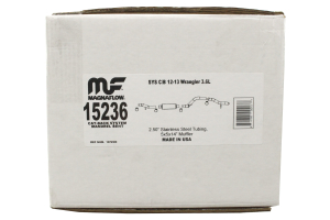 Magnaflow Rock Crawler Series Cat-Back Exhaust  - JK 2dr 2012+