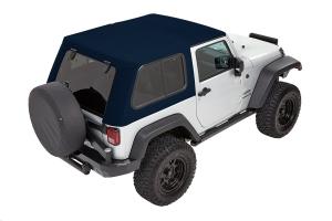 Bestop Trektop Pro Hybrid Soft Top, Blue - JK 2dr
