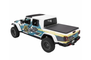 Bestop EZ-Roll Soft Tonneau Cover - Black Diamond - JT