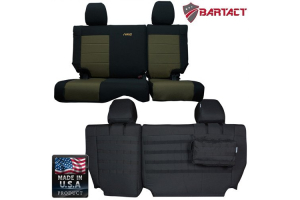 Bartact Rear Split Bench Cover - JK 4dr 2013+ (Part Number: )