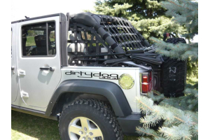Dirty Dog 4x4 Rear Netting Blue (Part Number: )