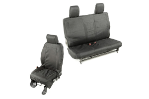 Rugged Ridge Elite Ballistic Seat Cover Set ( Part Number: 13256.01)