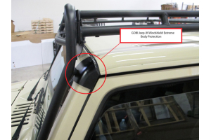 Gobi Windshield Extreme Body Protection ( Part Number: GJJKWBP)