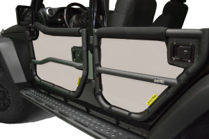 Dirty Dog 4x4 Rugged Ridge Tube Door Screens Sand (Part Number: )