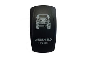 sPOD TJ Windshield Lights Rocker Switch Cover