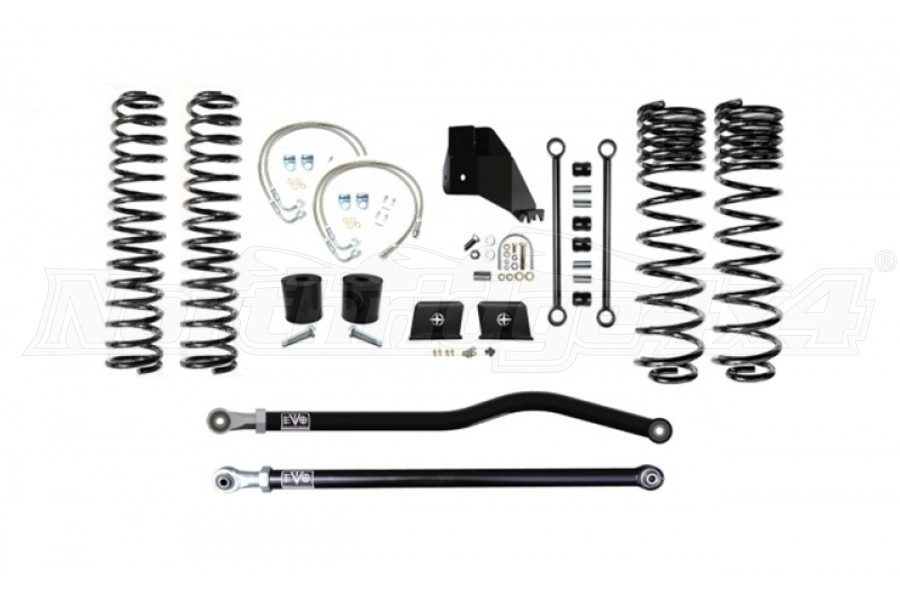 EVO Manufacturing 4.5in Enforcer Lift Kit Stage 1 PLUS - JT