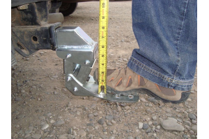 M.O.R.E. Receiver Hitch HIDE-A-STEP (Part Number: )
