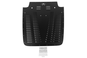 Poison Spyder Hood Louver Black ( Part Number: 14-53-011-PC)