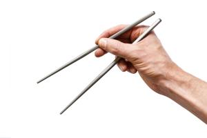 Full Windsor Titanium Magnetic Chopsticks