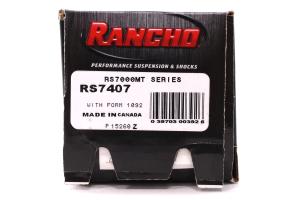 Rancho Performance RS7000MT Series Monotube Steering Stabilizer - TJ/LJ/JK