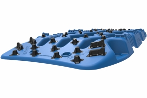 ARB TRED Pro Recovery Boards - Blue, Pair