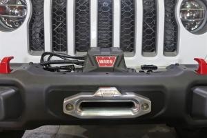 Rock Hard 4x4 Winch Plate for Factory Steel Bumper - JT/JL
