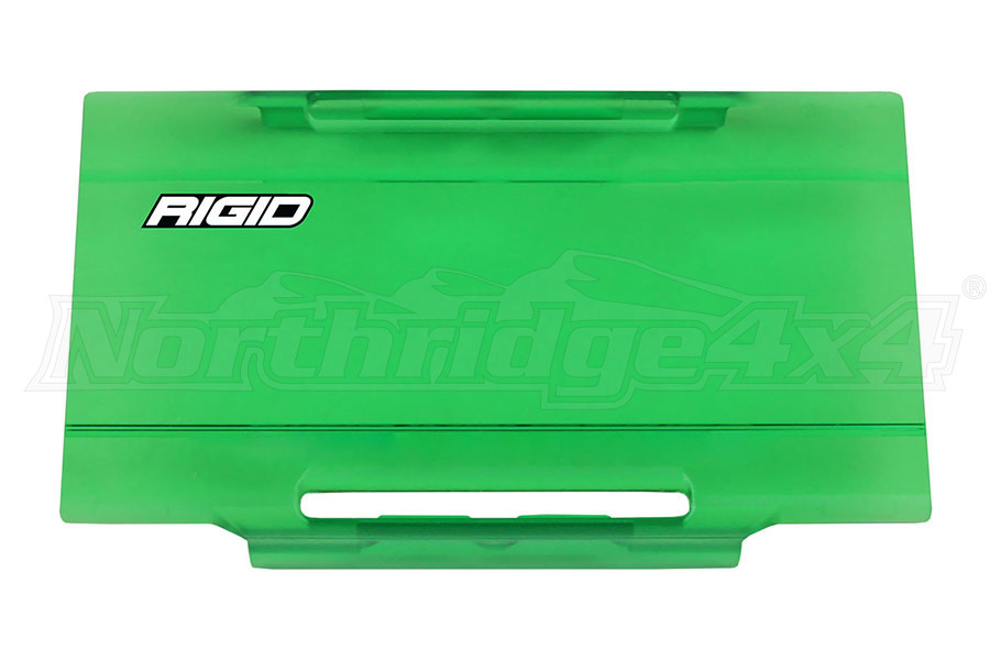 Rigid Industries E-Series 6IN Light Cover, Green (Part Number:106973)