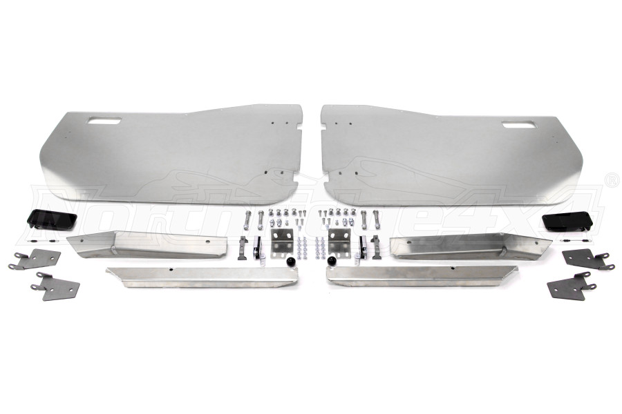 Savvy Offroad Aluminum Front Half Doors (Part Number:SAV-JKFHD)