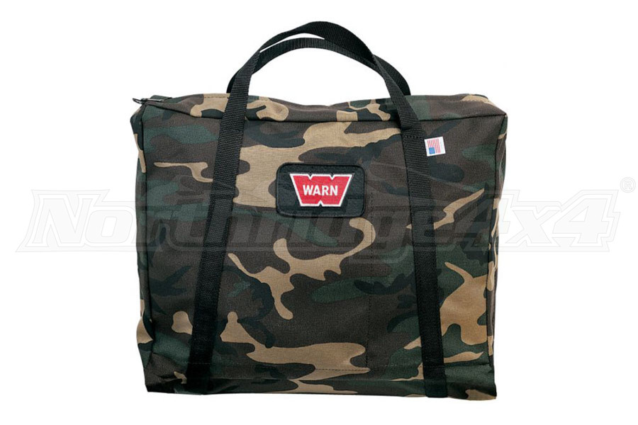WARN Heavy-Duty Winching Accessory Bag, Camouflage (Part Number:29491)