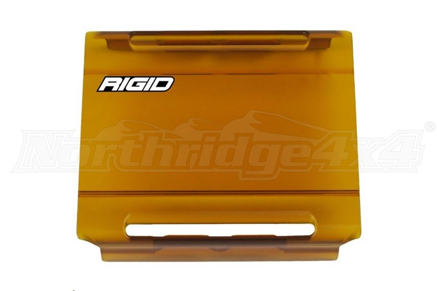 Rigid Industries E-Series Amber Light Cover 4in  (Part Number:104933)
