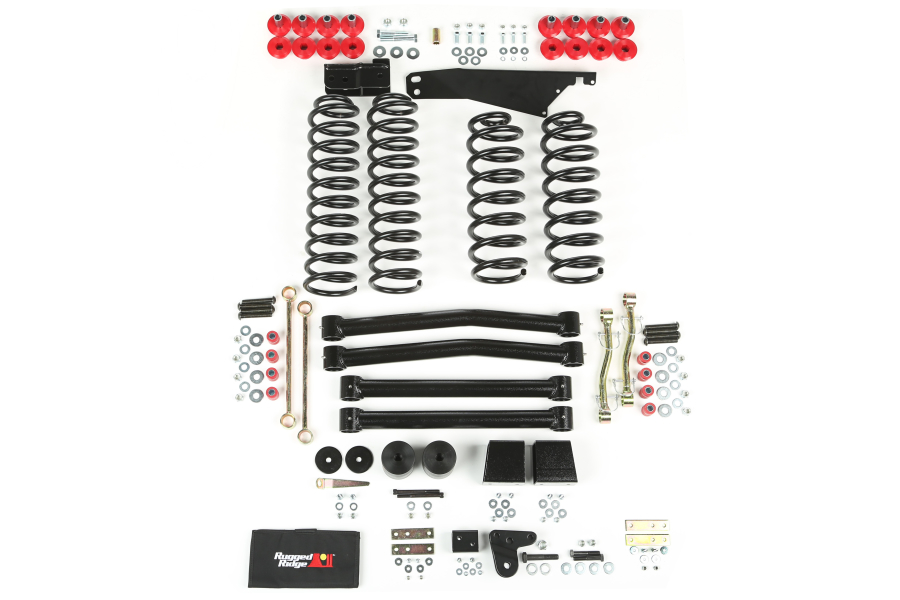 Rugged Ridge 4in Lift Kit Without Shocks (Part Number:18401.60)