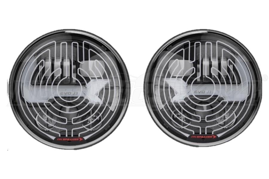 JW Speaker 8700 Evolution J3 Heated Series Headlight Kit, Graphite - JK