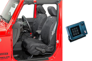 Rugged Ridge Elite Front Seat Covers w/ Back Seat Heater - JK