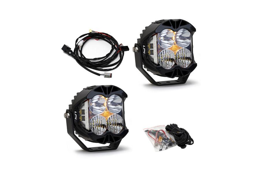 Baja Designs LP4 Pro White LED Spot Light Pair