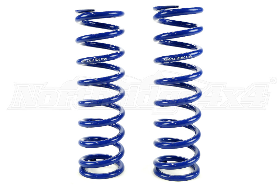 Evo Manufacturing Front Bolt on Coilover HD Spring Pair - JK