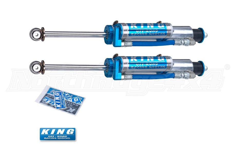 King Shocks 2.5 OEM Performance Series Front Shocks w/Piggy Back Reservoir 0-2in Lift (Part Number:25001-180)