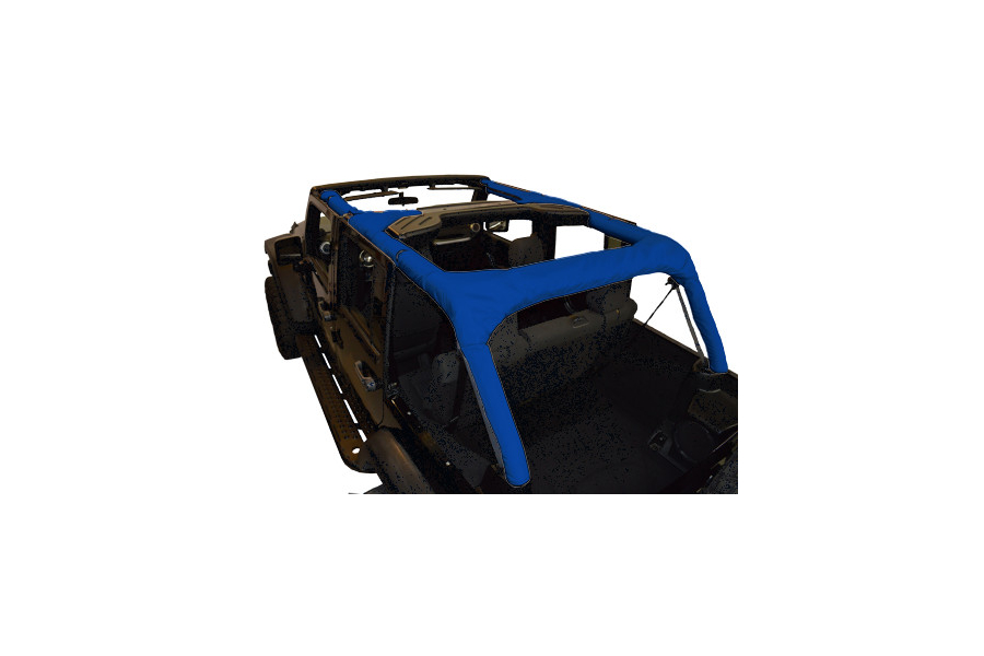 Dirty Dog 4x4 Roll Bar Covers Blue (Part Number:J4RBC07BL)