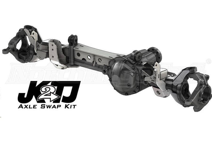Artec Industries JK2TJ Front Axle Swap Kit with Truss - TJ/LJ
