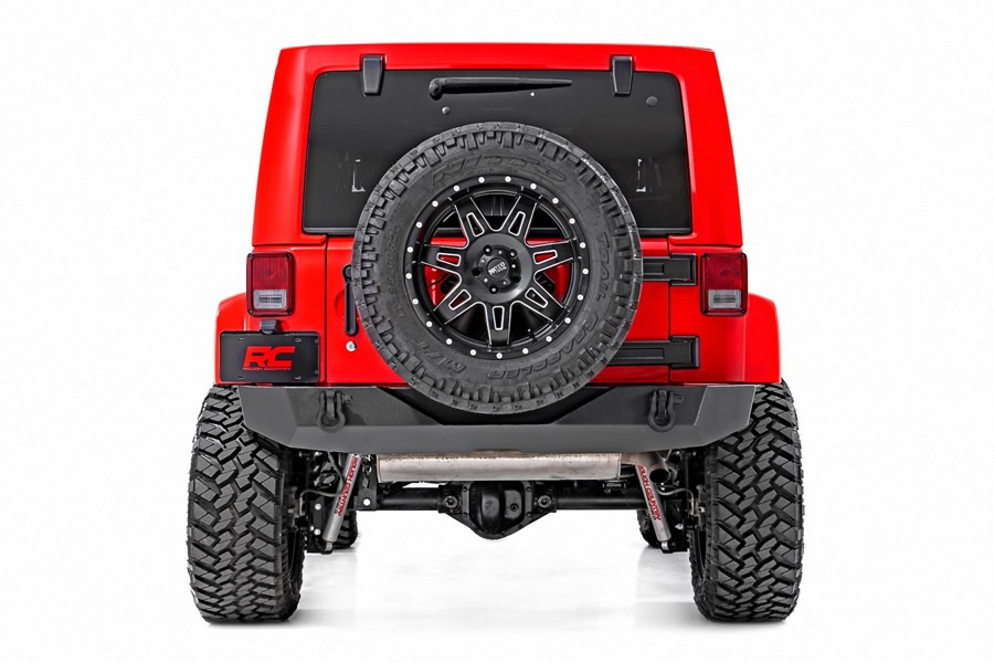 Rough Country Rock Crawler Rear HD Bumper  - JK