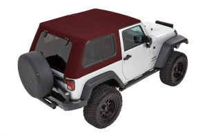 Bestop Trektop Pro Hybrid Soft Top, Red - JK 2dr