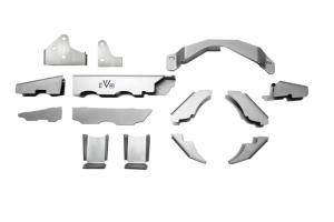 EVO Manufacturing Dana 30 Protek Front Axle Armor (Part Number: )