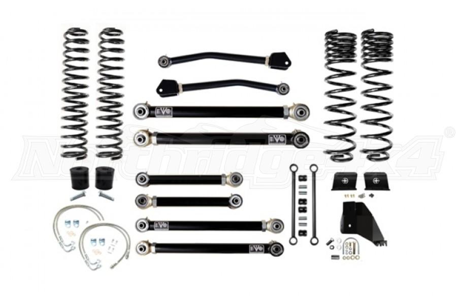 EVO Manufacturing 4.5in Enforcer Lift Kit Stage 4 - JT