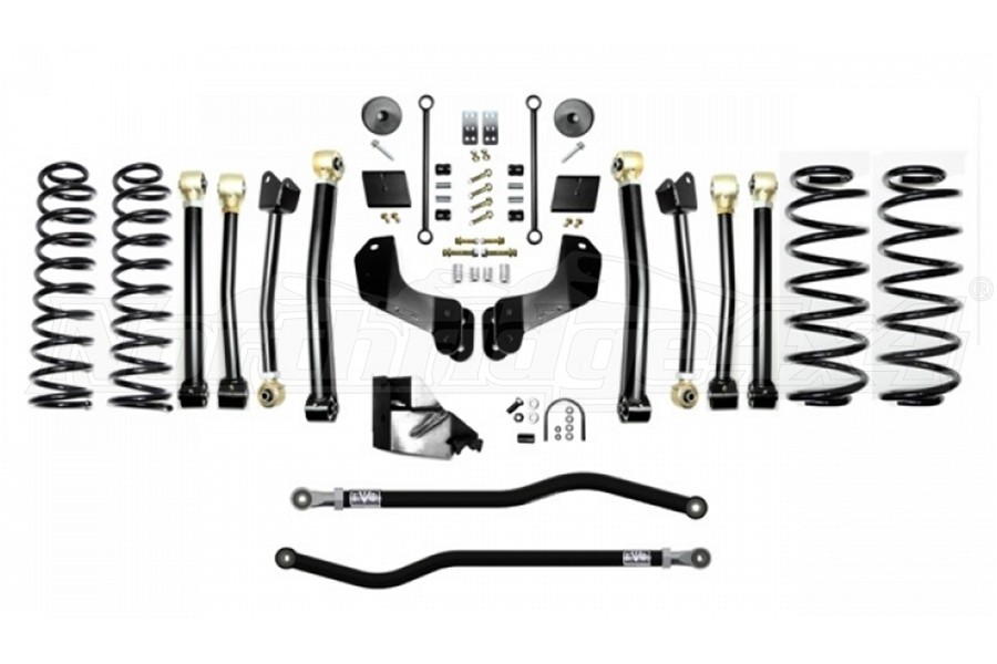 EVO Manufacturing 3.5in Enforcer Overland Lift Kit, Stage 4 - PLUS - JL