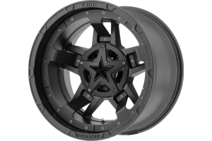 XD Series XD827 Rockstar III Wheel, Matte Black 20x10 5x5/5x5.5 (Part Number: )