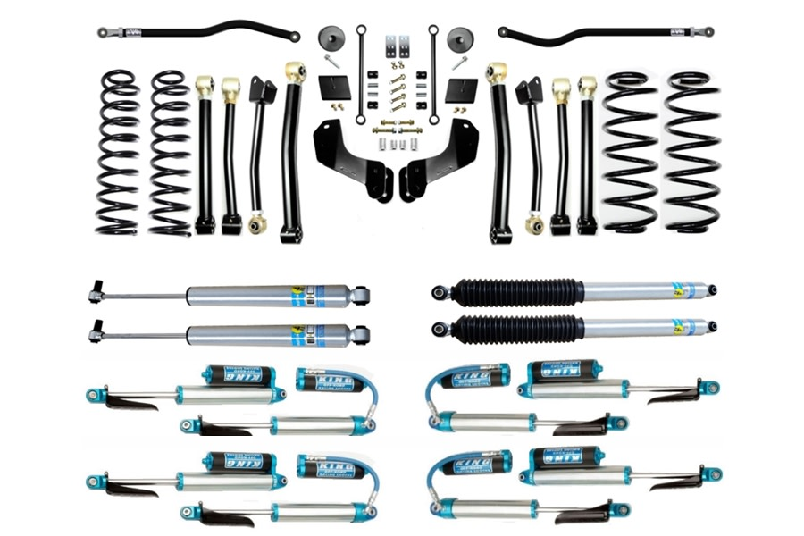 Evo Manufacturing HD 2.5in Enforcer Overland Stage 4 PLUS Lift Kit w/ Shock Options  - JL