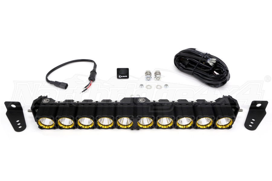 KC HiLites 20in Flex Array LED Light-Bar Expandable Spot/Spread Pattern (Part Number:274)