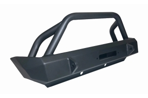 M.O.R.E. Rock Proof Front Bumper with Tube Work  - JL