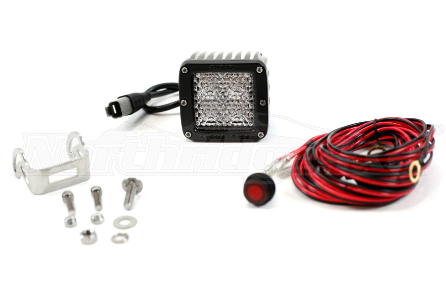 Rigid Industries Dually Diffused 60 Degree LED Light (Part Number:201513)